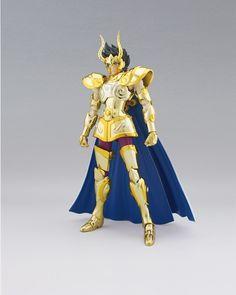 32.60$  Buy now - http://ali0mi.shopchina.info/go.php?t=32334960199 - High Quality!!!  Galactic Nebula Saint Seiya Shura Capricorn 18cm PVC Action Figure Model Toys Gifts Collection 32.60$ #buymethat