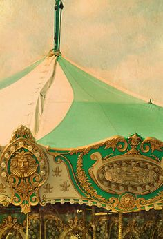 Green and Gold Carousel