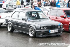 hardcore BMW E30. This would be a blast as a track car.