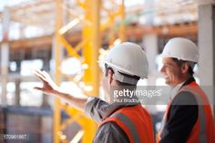 Stock Photo : Construction workers working on construction site