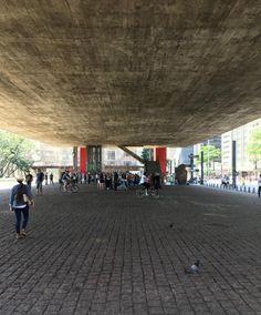 Under the São Paulo Art Museum : Museu de Arte de São Paulo (MASP) | Lina Bo Bardi
