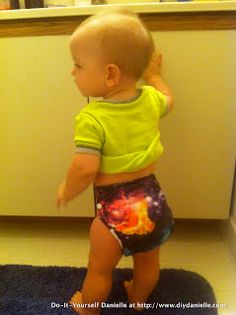 Do-It-Yourself Danielle: DIY Cloth Diaper Cover with FOE Legs