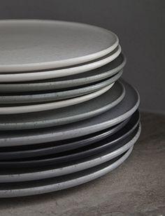image of teller grau set plates grey set living in 2018 geschirr porzellan und steinzeug. Black Bedroom Furniture Sets. Home Design Ideas