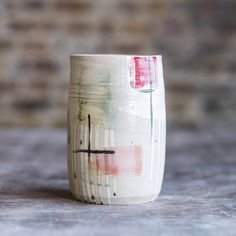 "Turning Earth (@turning.earth) on Instagram: ""Vase by Turning Earth member Alma Berliner @almathrows ⠀ #turningearth #turningearthuk #pottery…"""