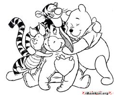 Winnie Pooh disegni da colorare_36