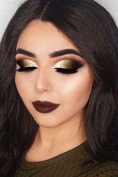 Gorgeous Makeup: Tips and Tricks With Eye Makeup and Eyeshadow – Makeup Design Ideas Dark Makeup, Glam Makeup, Men Makeup, Natural Makeup, Beauty Makeup, Formal Makeup, Makeup Blush, Makeup Style, Makeup Geek