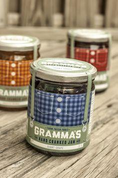 Concept: Gramma's Hand Cranked Jam — The Dieline