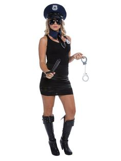 6532f4bd33baa Check out Adult Female Police Kit For Adults