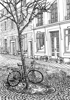 Download and color this amazing coloring page related to this fantastic city in Germany!
