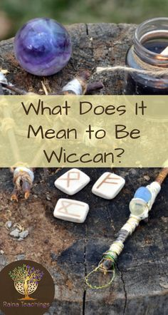 Does it Mean to Be Wiccan? Wicca is a widely sought out spiritual practice. Learn how it differs from Witchcraft Wiccan Magic, Pagan Witchcraft, Wiccan Witch, Magick Book, Wiccan Books, Wiccan Art, Wiccan Decor, Wicca For Beginners, Witchcraft For Beginners