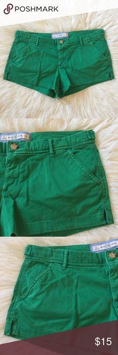 Abercrombie & Fitch Bright Green Casual Shorts A pair of Abercrombie & Fitch summer shorts. Worn only a handful of times, like new. All offers welcomed! 🎉 Abercrombie & Fitch Shorts