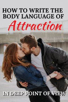 Writing The Body Language of Attraction In Deep Point Of View Attraction is where most love stories begin. Learn how to SHOW attraction in a way that connects with readers and pulls them into the story! Writing Genres, Writing Romance, Writing Characters, Romance Authors, Fiction Writing, Romance Tips, Writing Fantasy, Romance Books, Creative Writing Tips