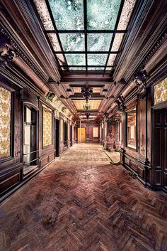 this breaks my heart, seeing such craftsmanship rot :(.  Urban Exploration, Abandoned, Forgotten, Rust, Decaying, Abandoned Places, Abandoned House, Abandoned Building by kleiner hobbit, via Flickr