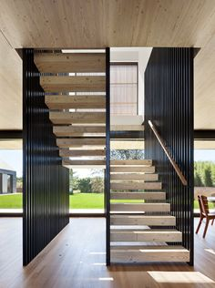 Modern Staircase Design Ideas - Staircases are so typical that you do not give them a doubt. Have a look at best 10 instances of modern staircase that are as spectacular as they are . Interior Stairs, Interior Architecture, Interior And Exterior, Stairs Architecture, Exterior Design, Interior Cladding, Asian Interior, Architecture Wallpaper, Vernacular Architecture