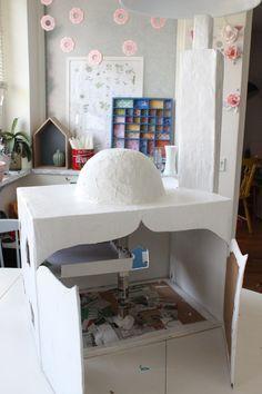 Ramadan crafts with kids – DIY papier maché Mosque!