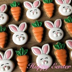Easy Easter Cookies For Kids: The Best decorated Easter cookies recipes. Are you after bunny shaped Easter cookies ideas? If so, you have to try these simple Easter cookies with royal icing, chocolate and more. Royal Icing Cookies, Sugar Cookies, Cookies Et Biscuits, Easter Biscuits, Easter Cupcakes, Easter Cookies, Valentines Day Cookies, Holiday Cookies, Easter Cookie Recipes