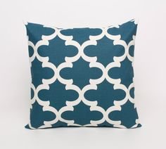 Blue Pillow Covers Blue Cushion Cover Blue by DimensionsHomeDecor, $15.00