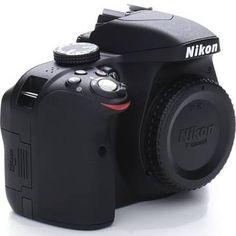 Nikon D3300 24.2 MP Digital SLR Camera - Black - AF-S VR II DX 18-55mm lens