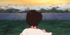 The Girl Who Leapt Through Time, Mamoru Hosoda, gif