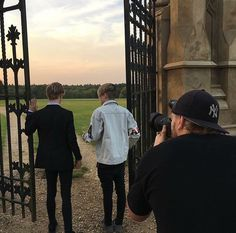 Bars and Melody shooting their new music video for their new song, Never Give Up.