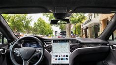 It's all about that screen...What a tablet in a car should be   https://www.theverge.com/2017/6/19/15827652/2016-tesla-model-s-17-inch-tablet-electric-vehicle-screendrive-review?utm_content=buffer945d6&utm_medium=social&utm_source=pinterest.com&utm_campaign=buffer #tesla #tablet #secnetitc #securenetworksitc