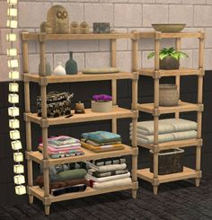 Leo 4 Sims: Shelves • Sims 4 Downloads