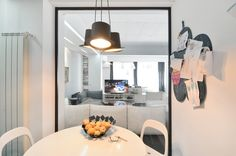 Apartment in Bucharest - Modern Residential Architecture, Architecture Plan, Interior Architecture, Tuscan Style Homes, Interior Design Work, Minimalist House Design, Bucharest, Apartment Design, Kitchen Living