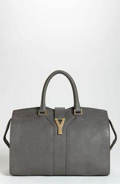 Cabas Classique Leather Satchel - Lyst