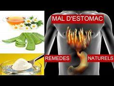 Comment traiter le mal d'estomac (gastrique) ? remèdes naturels - YouTube