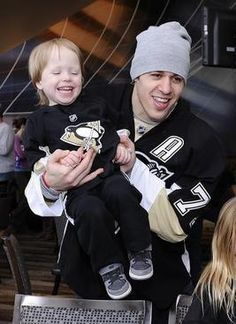 Geno at the Children's Lunch. This picture makes me want to give him a hug! <3