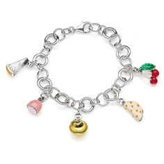 Sterling Silver Luxury Bracelet - Emilia Romagna - 199 Euro Free worldwide shipping over 99 Euro
