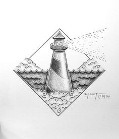 simple lighthouse  #art #iblackwork #blackwork #draw #pen #art_help #blackandwhite #artshare #drawing #pointillism #penart #design #artistgalaxy #artsgood #sketchbyteens #teenartist #thestipplingproject #inkfeature #exploreartists #lighthouse #ocean