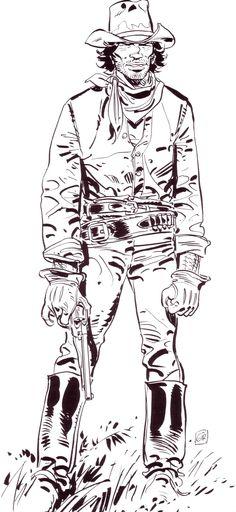 Jean Giraud #comics #illustration #moebius