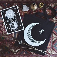 Cards of the Tarot | #celestial #sun and #moon