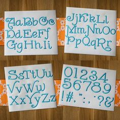 Leonardo fonts available in BX by Designs by JuJu