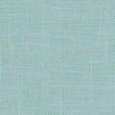 Medium weight seafoam blue linen fabric -- www.Fabrics-store.com