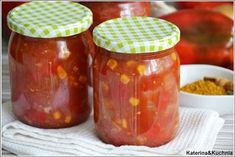 Katerina&Kuchnia: SOS SŁODKO-KWAŚNY DO SŁOIKÓW Ketchup, Salsa, Food And Drink, Menu, Jar, Treats, Canning, Drinks, Healthy
