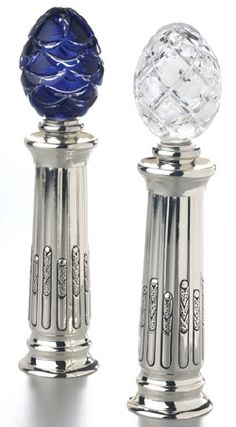 Salt and Pepper by Faberge.....my sister would love these!!!