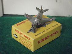 "Dinky No: 734 ""Supermarine Swift Fighter Plane"" - (Original 1950's/Boxed)"