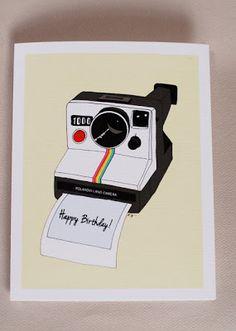 Birthday Blessings, Birthday Wishes, Birthday Cards, Polaroid Vintage, Happy Birthday Illustration, Boyfriend Birthday Quotes, Karten Diy, Diy Presents, Happy Birthday Greetings