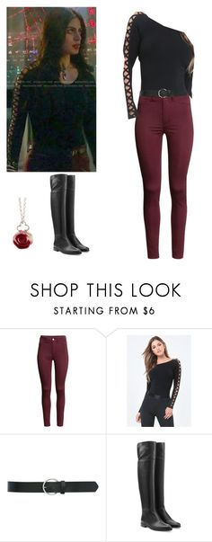 """Isabelle Lightwood - shadowhunters"" by shadyannon ❤ liked on Polyvore featuring H&M, M&Co, Sergio Rossi and Sian Bostwick Jewellery"