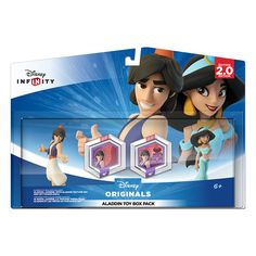 NEW Disney Infinity (2.0 Edition): Aladdin Toy Box Pack - 2000 points