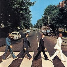The Beatles Abby Road wearing Tommy Nutter suits cut by Edward Sexton