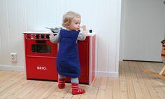 Free Knitting Pattern - Toddler & Children's Clothes: Plain Bubble Dress