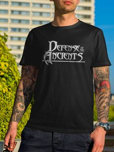 Dota 2 Defense of The Ancients Game TShirt by 21street on Etsy 917a694783e3a