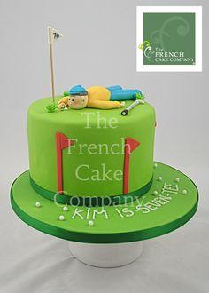 Birthday Cake Golf - Sport Gateau D'annversaire Golf - Sport Verjaardagstaart