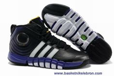 G22670 Adidas adiPower Howard 3 Noir Club Pourpre Blanc Sortie