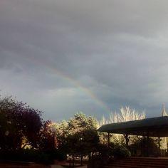 Hemos encontrado la luz al final del arcoiris #zaragoza
