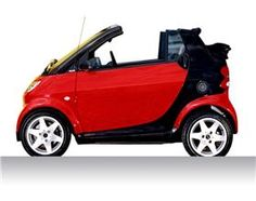 SMART CITY-CABRIOLET: You just can't stop smiling from the moment you get in it!... get one before it's too late and have some fun while you are motoring! :) :) #carlove #smart #cabriolet #greatcar