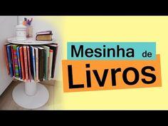 Coisas que Gosto: DO LIXO AO LUXO MESINHA DE LIVROS   Customizando -...
